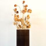 Plume 190 vase - coffee 3