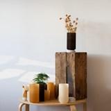 Plume 190 vase - coffee 4