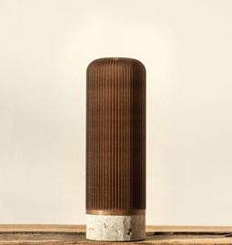 Vase Plume 190 - café