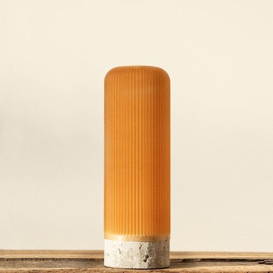Plume 190 vase - wheat - Design : Poule