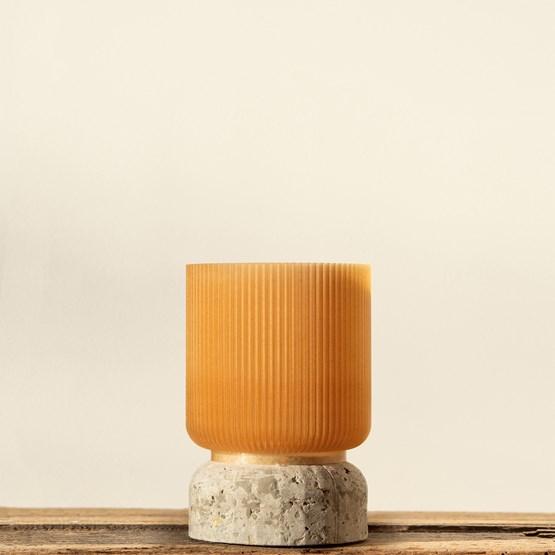Plume 100 pot - wheat  - Design : Poule