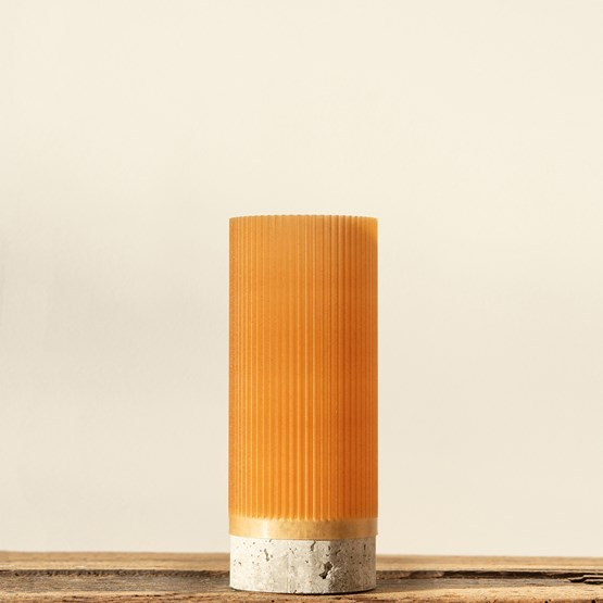 Pot Plume 150 - blé - Design : Poule