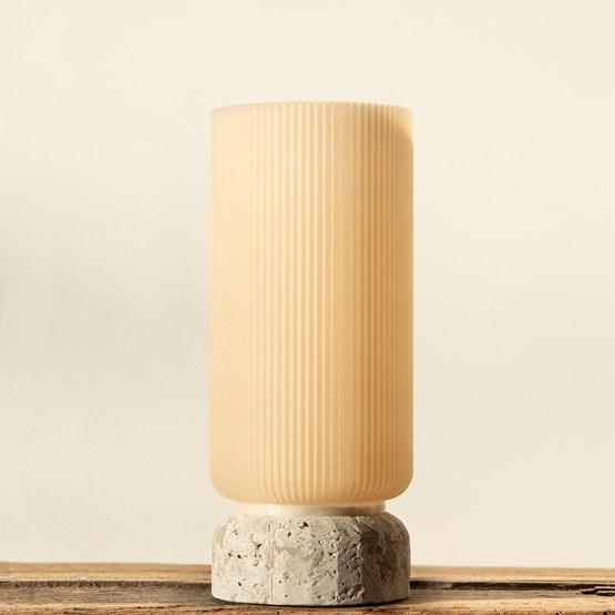 Plume 195 vase - mussel - Design : Poule