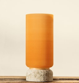 Plume 195 vase - wheat