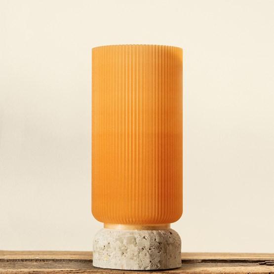 Vase Plume 195 - blé - Design : Poule