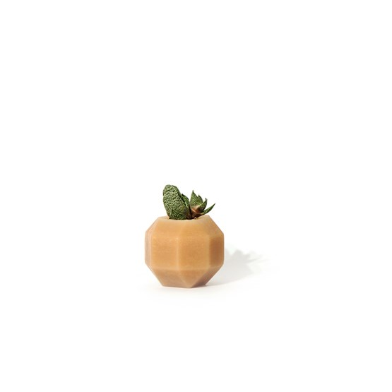 Rombi aromatic vase - brown - Design : Hugi.r