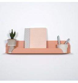 Design wall shelf - Pink blush