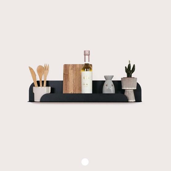 Design wall shelf - Black - Design : Jungle by Jungle