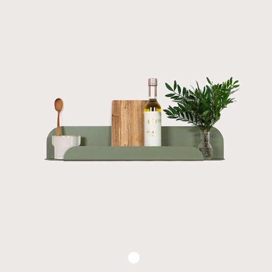 Design wall shelf - gorse green - Design : Jungle by Jungle