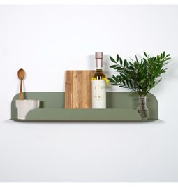 Design wall shelf - gorse green