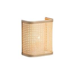 Wall light - natural and white band