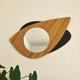 Miroir Cyclope -  bois 3