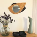 Miroir Cyclope -  bois 4