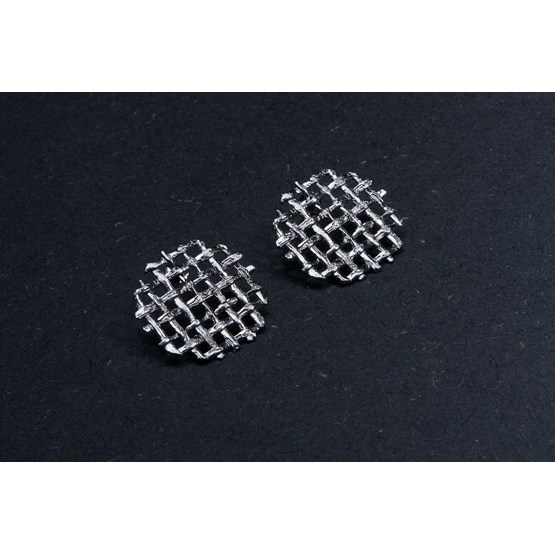 MESH Collection - Round Earrings - Design : studio böja