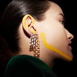 Boucles d'oreille rectangulaires - Mesh collection 3