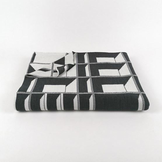 CONCRETE LANDSCAPE Blanket #10 - Design : KVP - Textile Design