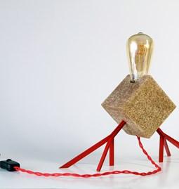 Lampe Agaphanto E.T. - rouge