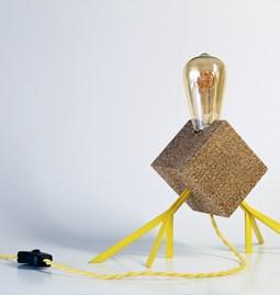 Lampe Agaphanto E.T. - jaune