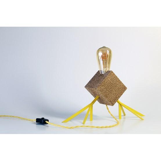 Lampe Agaphanto E.T. - jaune - Design : Hugi.r