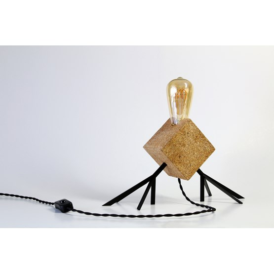 Agaphanto E.T. lamp - black - Design : Hugi.r