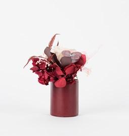 Petit pot Cinabre - burgundy