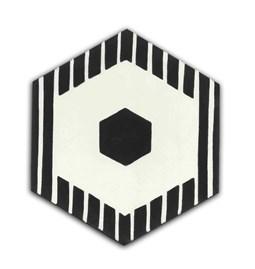Hexagone de ciment N°09