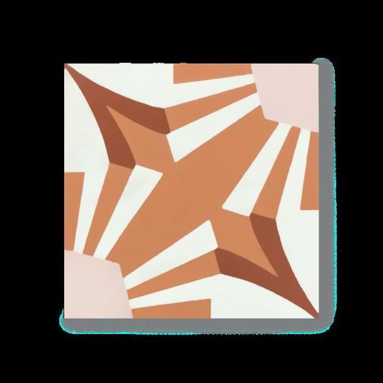 Carreau de ciment N°34 - Design : Aurélia Paoli