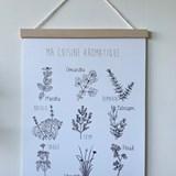 Affiche Ma cuisine aromatique - Papier 2