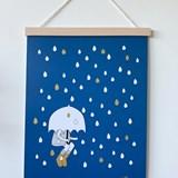 Affiche Sous la pluie - Papier 2