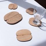 Accessoires de table - Set dessous de verre & dessous de bouteille Giverny 4