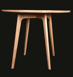 Dining table Yolande - Oak