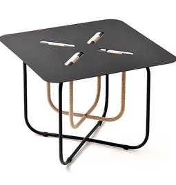 FLAX#4.2 LOW TABLE OUTDOOR - black