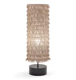 FLAX#6 TUBE-LAMP - linen