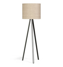 FLAX#9 FLOOR LAMP - linen