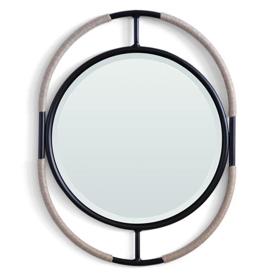 FLAX#10 MIRROR - linen - Design : EXSUD