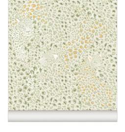 Wallpaper Cheetah - Mustard