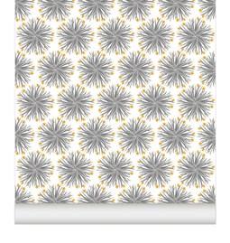Wallpaper Chardons - Gold