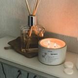 Scented concrete candle - Citrus 7