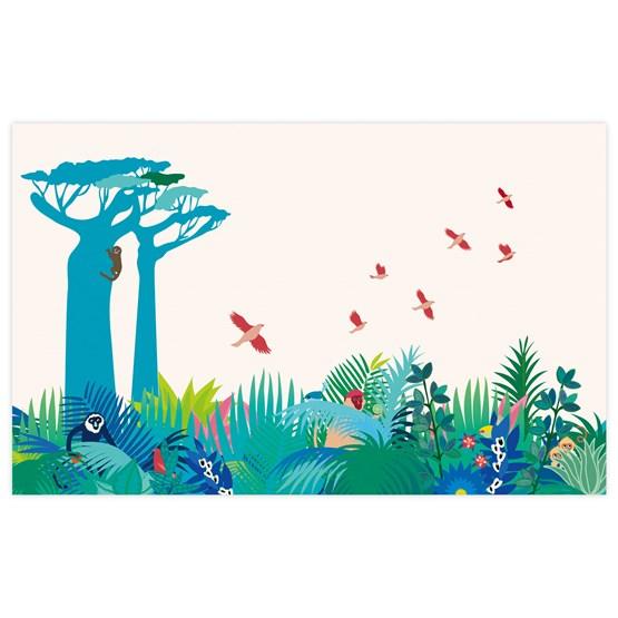 Walldecor Manja - blue - Design : Little Cabari