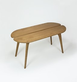 Table basse Giverny - chêne doré