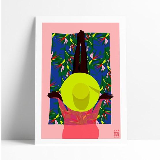 Illustration BIRD OF PARADISE  - Design : VERIDIS QUO