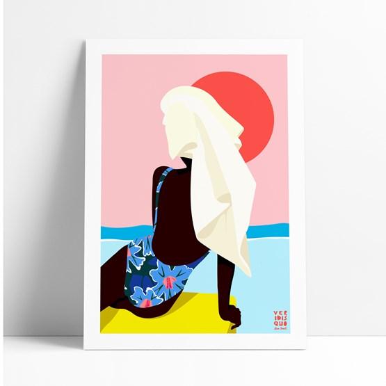 Illustration BIARRITZ  - Design : VERIDIS QUO