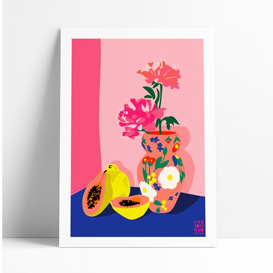 PAPAYA - Illustration - Design : VERIDIS QUO