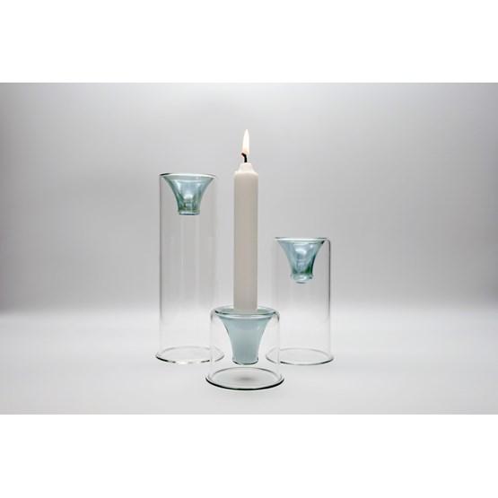 Tharros candle holders set - green - Design : KANZ Architetti