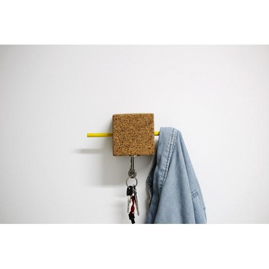 Touro hanger - yellow - Design : Hugi.r