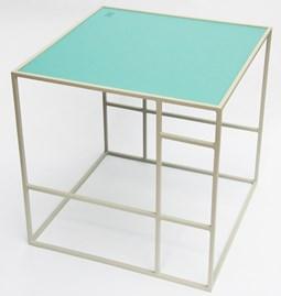 Table M+ - Gris/Bleu polaire