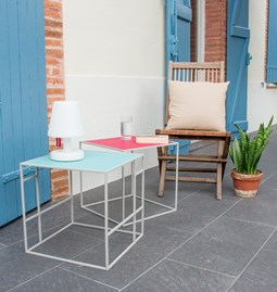 Table M+ - Gray/Polar blue