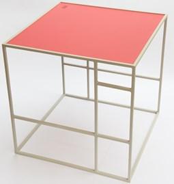 Table M+ - Gris/Framboise