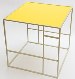 Table M+ - Grey/Citrine