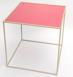 Table M - Gris/Framboise